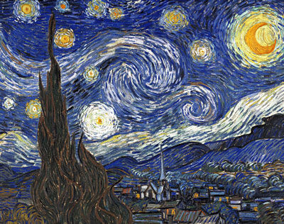 picture of Starry Night by Van Gogh Newtown Square, PA